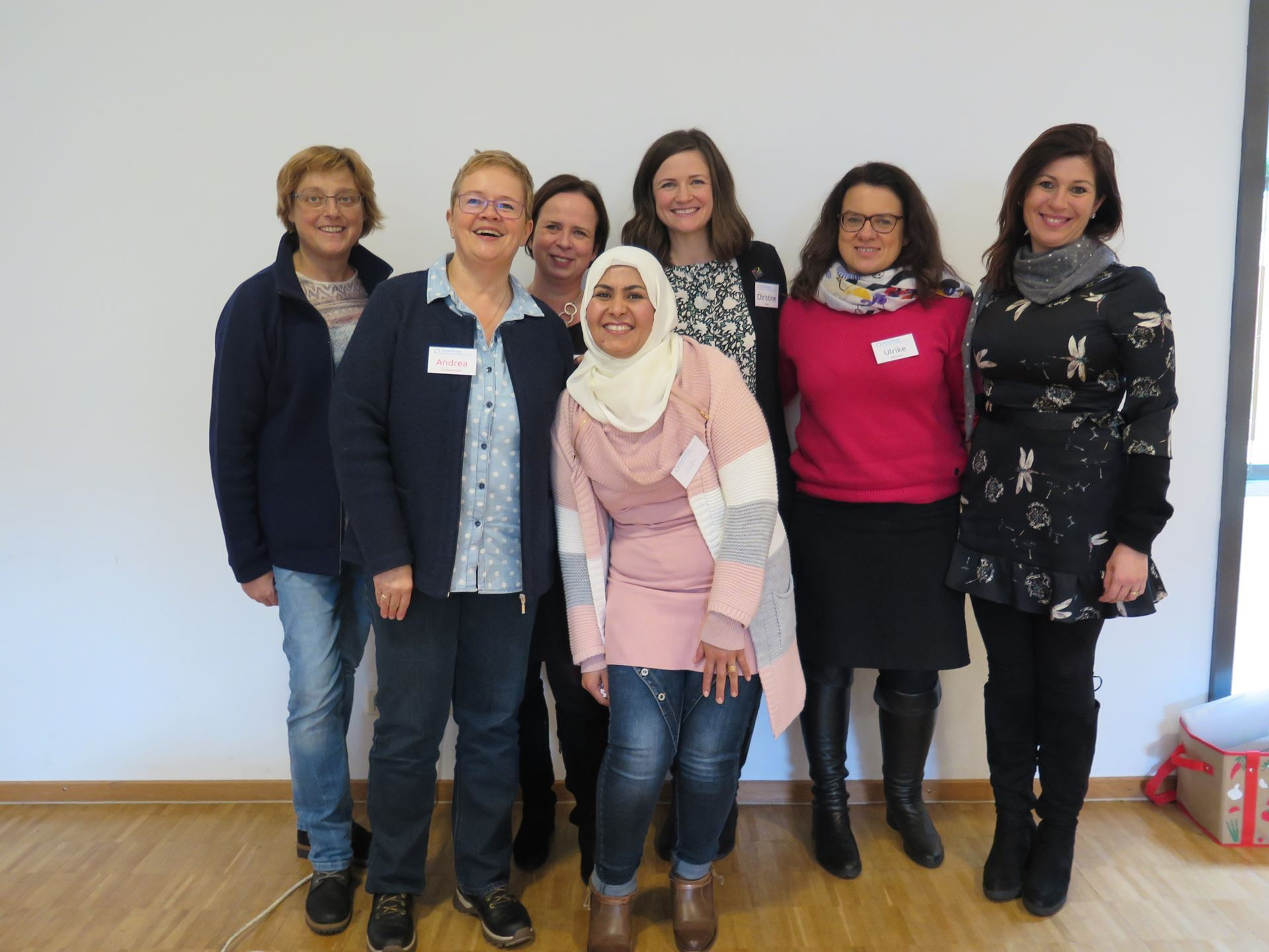 Heidelberg IWC Members with Miteinander in der VG Freinsheim Guest Speakers