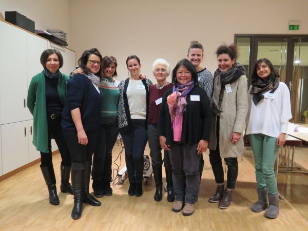 Heidelberg IWC Members and Juliah Rais-Morres