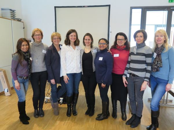 Heidelberg IWC Members with Guest Speaker Jenny Ciucci