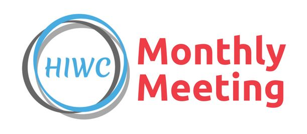 HIWC Monthly Meeting Logo