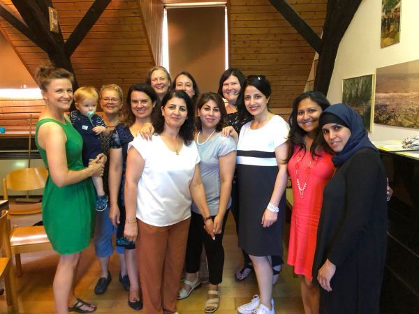 Zuckerfest with refugee women in Freinsheim