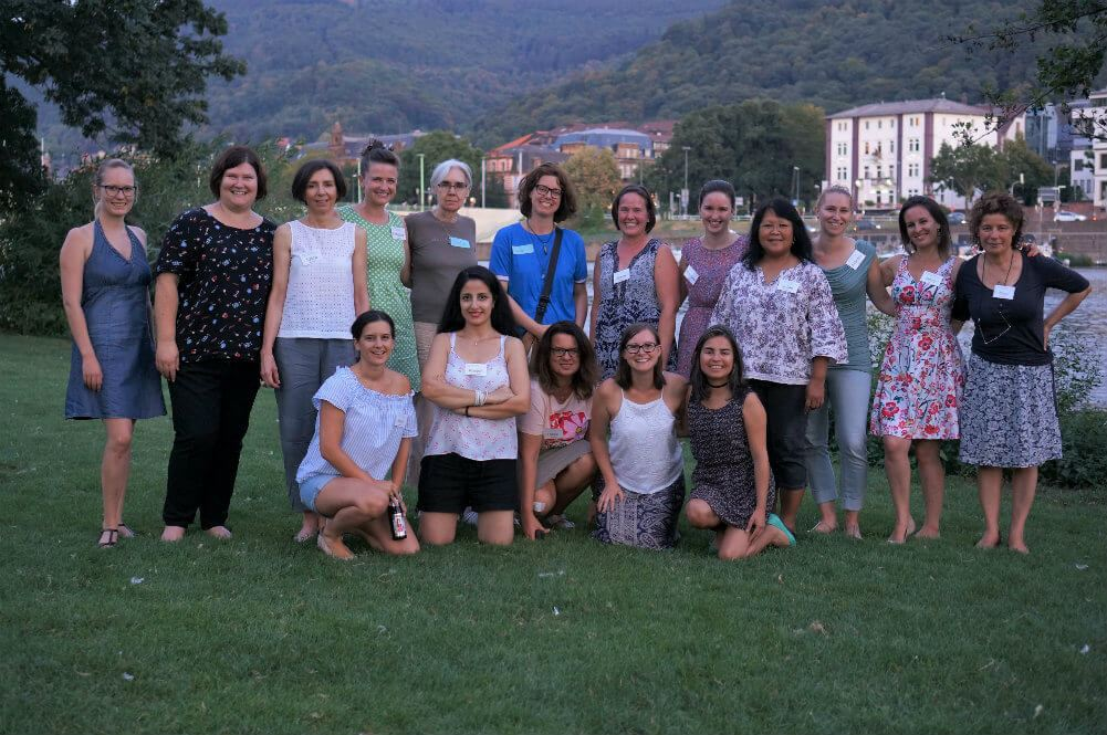 Heidelberg International Women's Club Members on the Neckarwiese